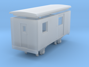 Goods van / carro chiuso H0e - freelance  in Frosted Ultra Detail