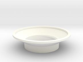 MHS compatible Kanan Tsuba in White Processed Versatile Plastic