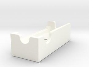 GoPro Tripod Mount in White Processed Versatile Plastic