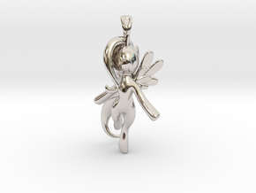 My Little Pony - Alicorn Pendant in Platinum