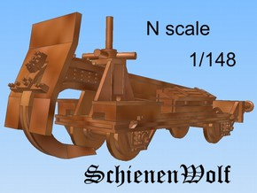 1-148 Schienenwolf RailRipper in Smooth Fine Detail Plastic