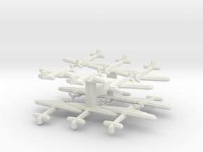 Fairey Fulmar 1:900 (Triplet) x4 in White Strong & Flexible