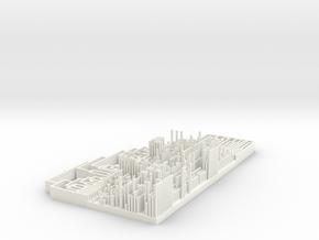 TRPV1 Structure vs Property Heatmap in White Processed Versatile Plastic
