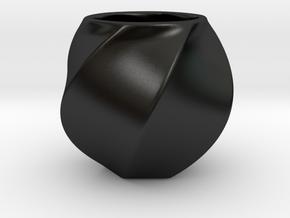 Espresso cup in Matte Black Porcelain