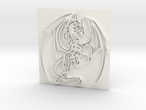 Dragon2 in White Processed Versatile Plastic