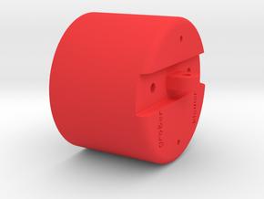 Luftwaffe Throttle Handle in Red Processed Versatile Plastic