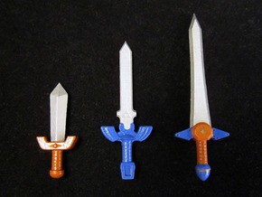 Time Sword Pack in Frosted Ultra Detail