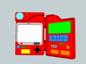 Pokedex in White Natural Versatile Plastic