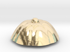 PPot Top 2 in 14k Gold Plated Brass