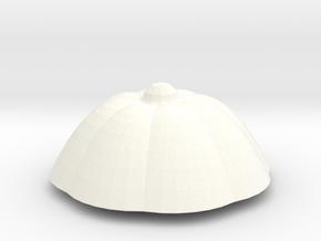 PPot Top 2 in White Processed Versatile Plastic