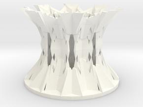 69x89 Snowflake Pencil Holder in White Processed Versatile Plastic
