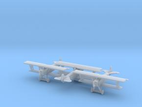 1/285 Fokker DVII  x3 in Smooth Fine Detail Plastic