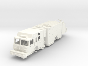 Squad Pumper in White Processed Versatile Plastic