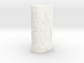 Subox case (Vapeon design) in White Processed Versatile Plastic