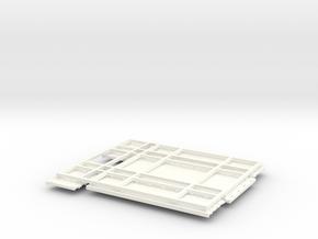 Knapheide 18ft Low side Grain bed in White Strong & Flexible Polished