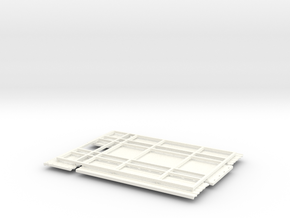 KN22 High Side Grain bed in White Processed Versatile Plastic