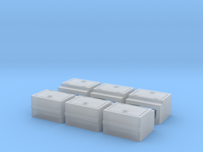 Caboose DRGW Battery Box in Smooth Fine Detail Plastic
