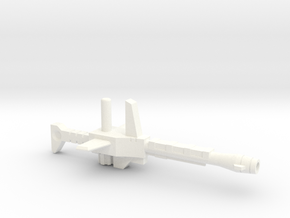 TF DX9 Carry Gun in White Processed Versatile Plastic