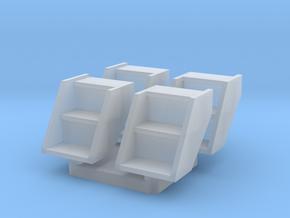 GTW Ctr Cupola Van Step X 4 S in Smooth Fine Detail Plastic