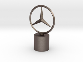Benz Trophy in Polished Bronzed Silver Steel