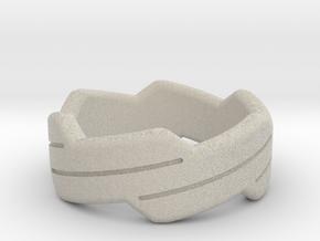 Happy ring in Natural Sandstone