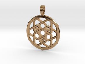 BINOCULAR STEREOPSIS in Polished Brass