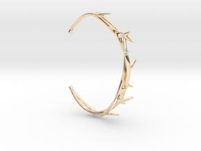 Thorn Bracelet in 14k Gold Plated Brass