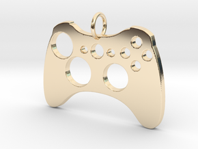 Xbox One Controller in 14K Yellow Gold