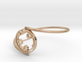 Kaelyn - Bracelet Thin Spiral in 14k Rose Gold Plated Brass