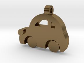 Minicooper Pendant in Polished Bronze