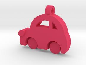 Minicooper Pendant in Pink Processed Versatile Plastic