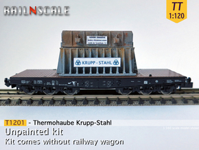Thermohaube (TT 1:120) in Smooth Fine Detail Plastic