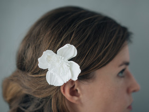 Icelandic Poppy Comb in White Strong & Flexible