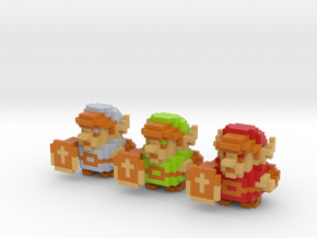 Link (Set of 3) in Full Color Sandstone