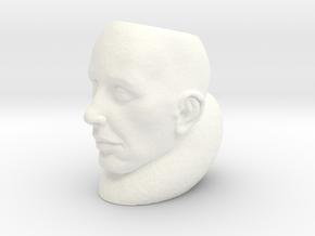 StoneFace Hollow in White Processed Versatile Plastic