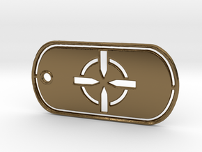 Battelfield 4 Ultimate Recon Dog Tag in Polished Bronze