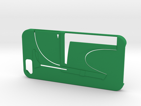 Bounty Hunter Iphone 6 Case V2 in Green Processed Versatile Plastic