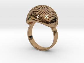 VESICA PISCIS Ring Nº1 in Polished Brass