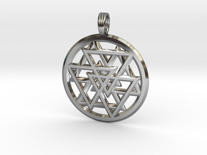 ECLIPTIC HORIZON in Fine Detail Polished Silver