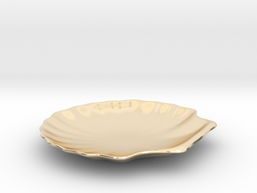 Shell Dish in 14K Yellow Gold
