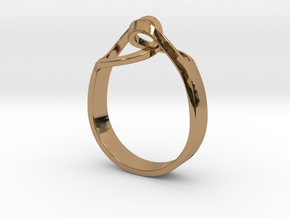 Link 2 18 in Polished Brass