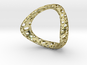 Space 64 in 18k Gold Plated Brass