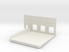 Left End Dock #2 Load In in White Natural Versatile Plastic