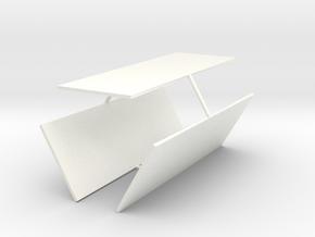 Key Locker Windows in White Strong & Flexible Polished