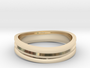 Ring of awesome in 14K Yellow Gold