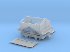 Feldbahn Kohlelore Spur 0e/0f in Smooth Fine Detail Plastic