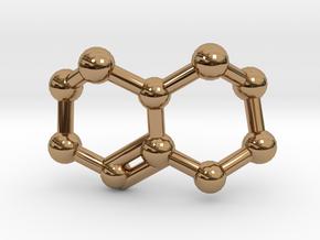 Triazabicyclodecene (TBD) Molecule Necklace in Polished Brass