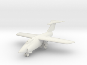 Grumman XF10F Jaguar (With landing gear) 1/285 6mm in White Natural Versatile Plastic