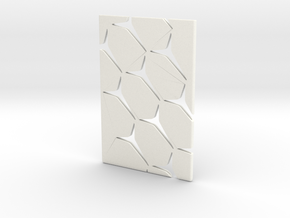 Youniversal Cardholder, Structured, Accessoir in White Processed Versatile Plastic