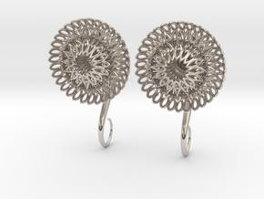Plugs / gauges/ The Sunflowers 4 g (5 mm) in Platinum